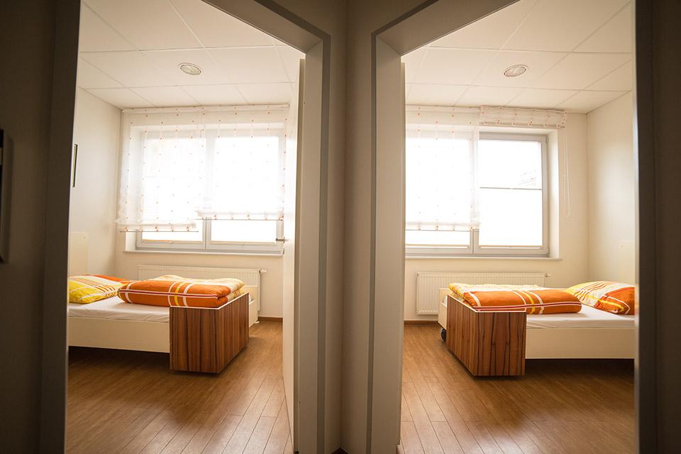 Der Aufwachraum nach dem Zahnimplantate setzen in Berlin.